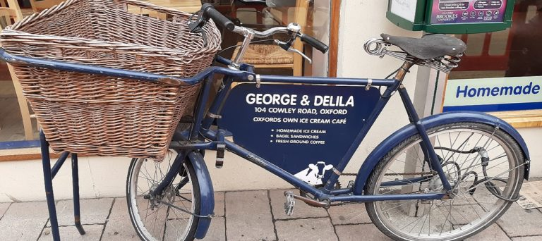 Oxford Media and Business School - George and Delia ice cream
