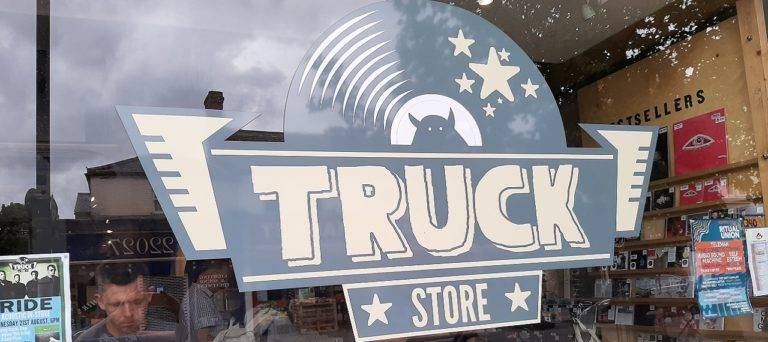 Oxford Media and Business School - Truck Record Store Cowley Road
