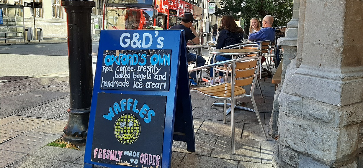 Oxford Media and Business School - G&D ice cream